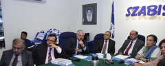 During Visit / Meeting with the representatives of SZABIST, Karachi